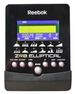 Reebok ZR8 Display