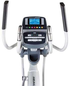 HealthRider 1250 console