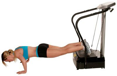 Confidence Pro Fitness Vibration-Plate-exercise