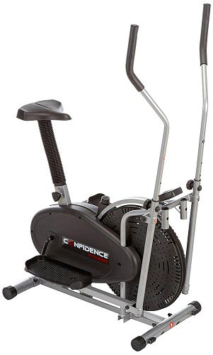 Confidence-2-in-1-Elliptical-Cross-Trainer-&-Bike