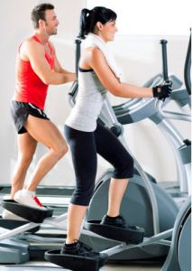Cross-trainer-workout