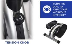 Stamina InMotion E1000 Compact Strider - tension knob