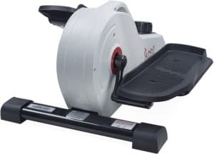 Sunny Health & Fitness Under Desk Elliptical - front view